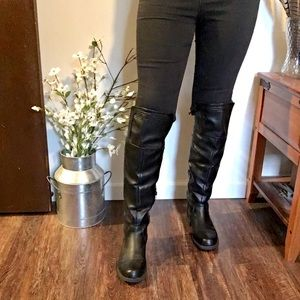 WORN ONCE! Size 7 knee high boots